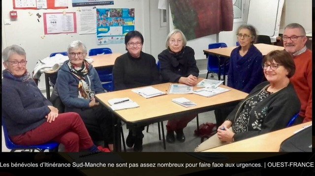 bénevoles ISM Ouest-France