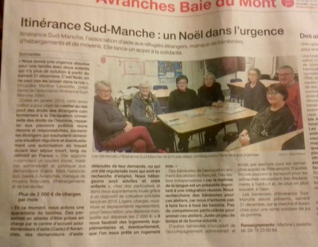 ouest france ISM