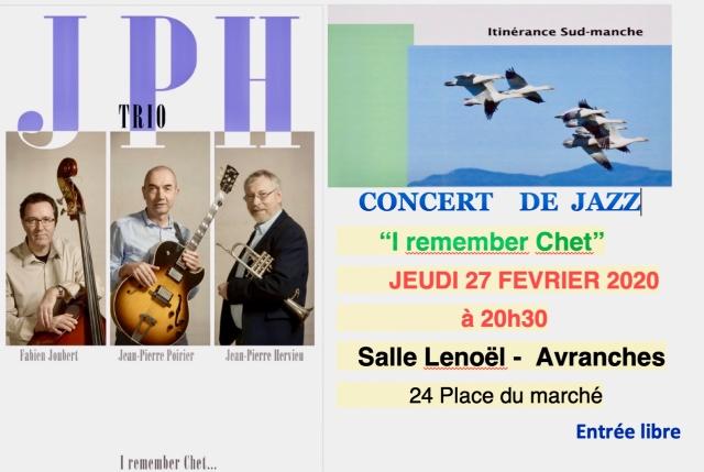 ISM jazz fevrier 2020